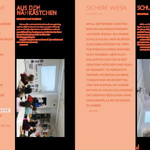 Jahresbericht FOS Gestaltung München - Tanja Kischel - Grafik und Illustration München