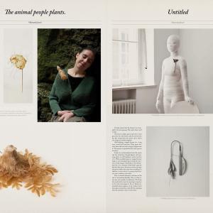 Wolpertinger Ausstellungszeitung für Schmuckkünstler - Tanja Kischel Grafikdesign